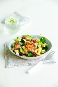 Lemongrass chicken pasta salad