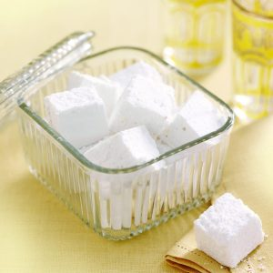 Lemony marshmallows