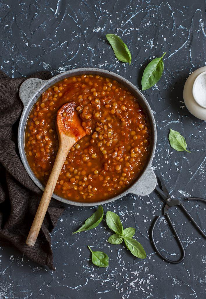 lentil bolognese  healthy food guide