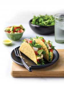 Lime and ginger fish tacos
