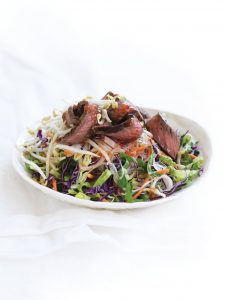 Lime and sweet chilli beef salad