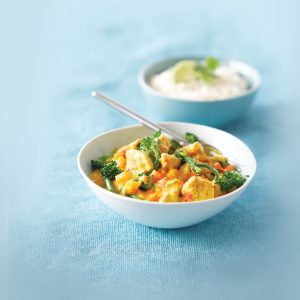 Lime chicken curry