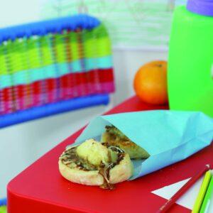 Marmite and cheddar scrolls