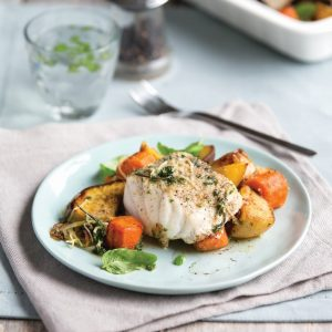 Mediterranean fish roast