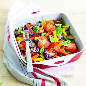 Mediterranean roasted veges