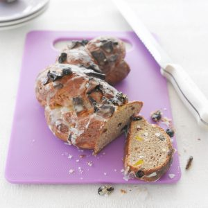 Mixed spice fruit bread