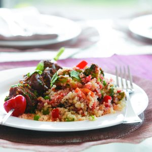 Mixed vegetable quinoa