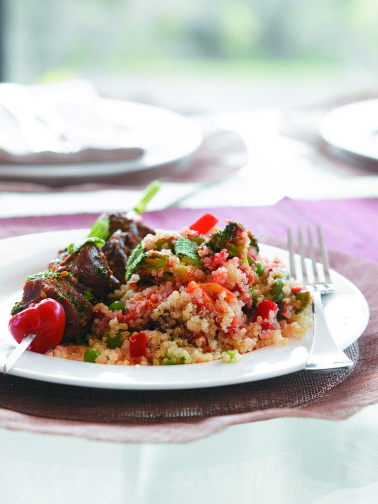 Mixed vegetable quinoa
