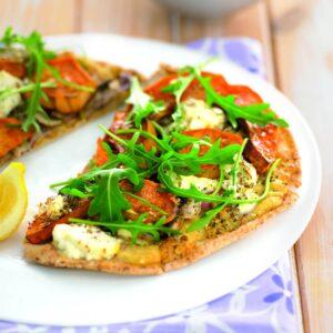 Moroccan pizza