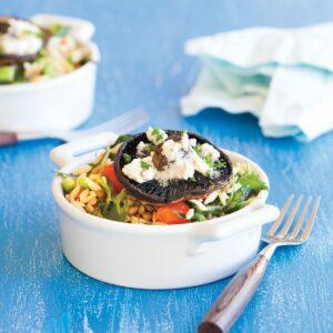Mushroom and vege pasta