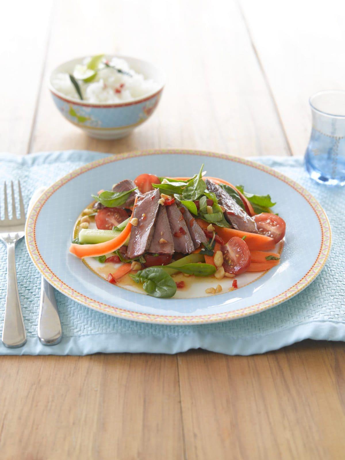 Niki's Thai beef salad
