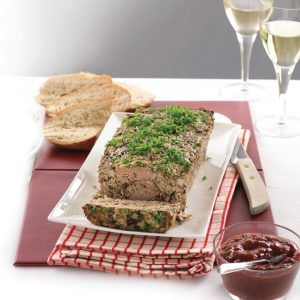 Niki's chicken and pork terrine