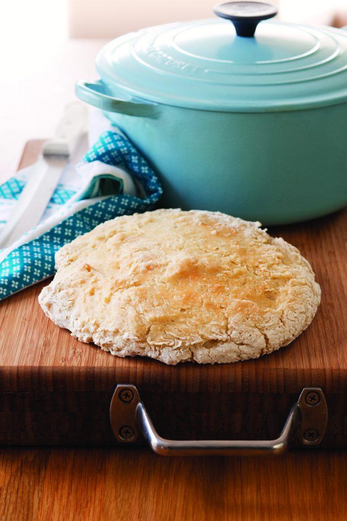No-knead gluten-free bread