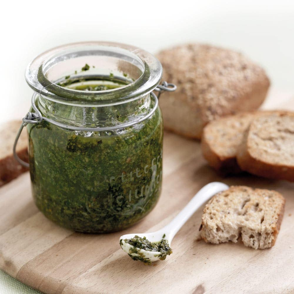 Nut-free basil pesto