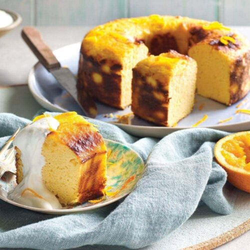 Orange dream cake