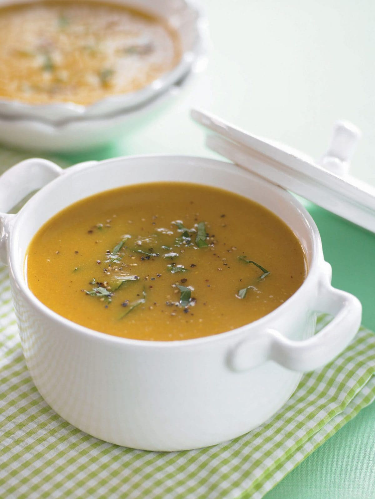 Pear and parsnip soup