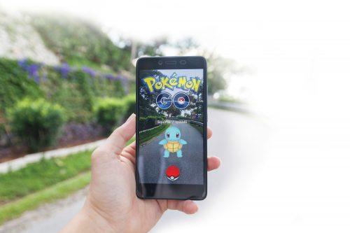 Pokemon going, going...