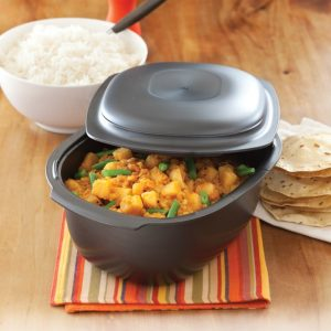 Potato and chana dhal curry