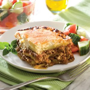 Potato moussaka
