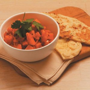 Pumpkin and kumara curry
