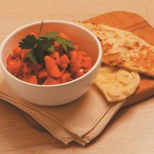 Pumpkin and kumara curry