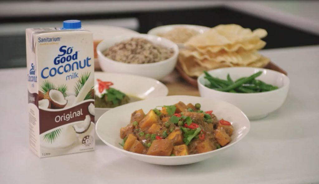 Pumpkin curry (sponsored)