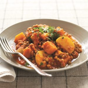 Lentil curry – quick, easy and delicious