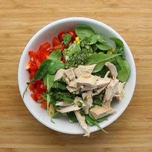 How to make: Rainbow pasta salad