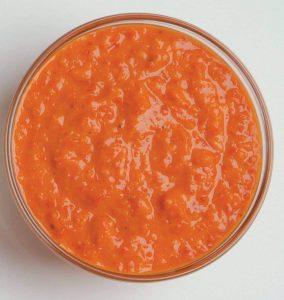Roast capsicum and cannellini bean dip