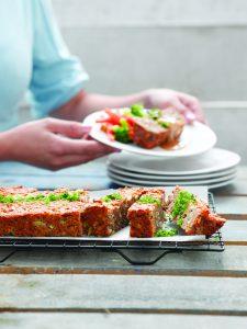 Savoury vege loaf