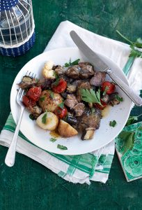 Slow-cooked Greek-style lamb and potatoes