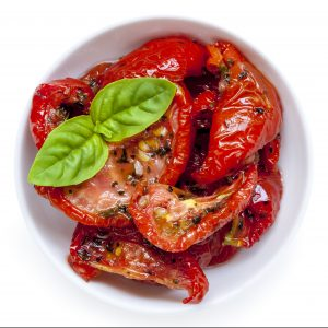 Slow-roasted oil-free tomatoes