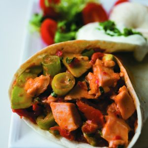 Smoked chicken tortillas