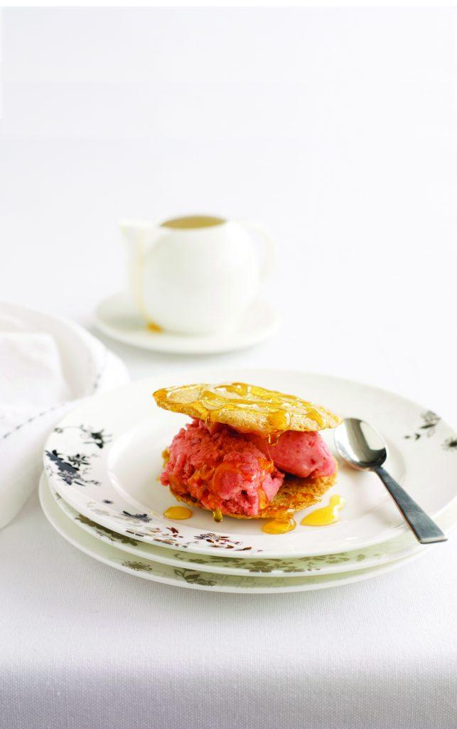 Sorbet sandwich