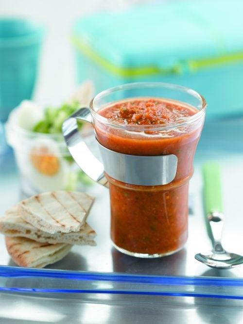 Speedy gazpacho
