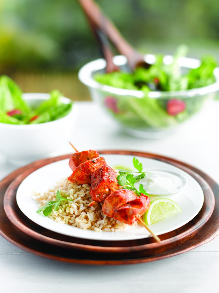 Speedy pork tikka