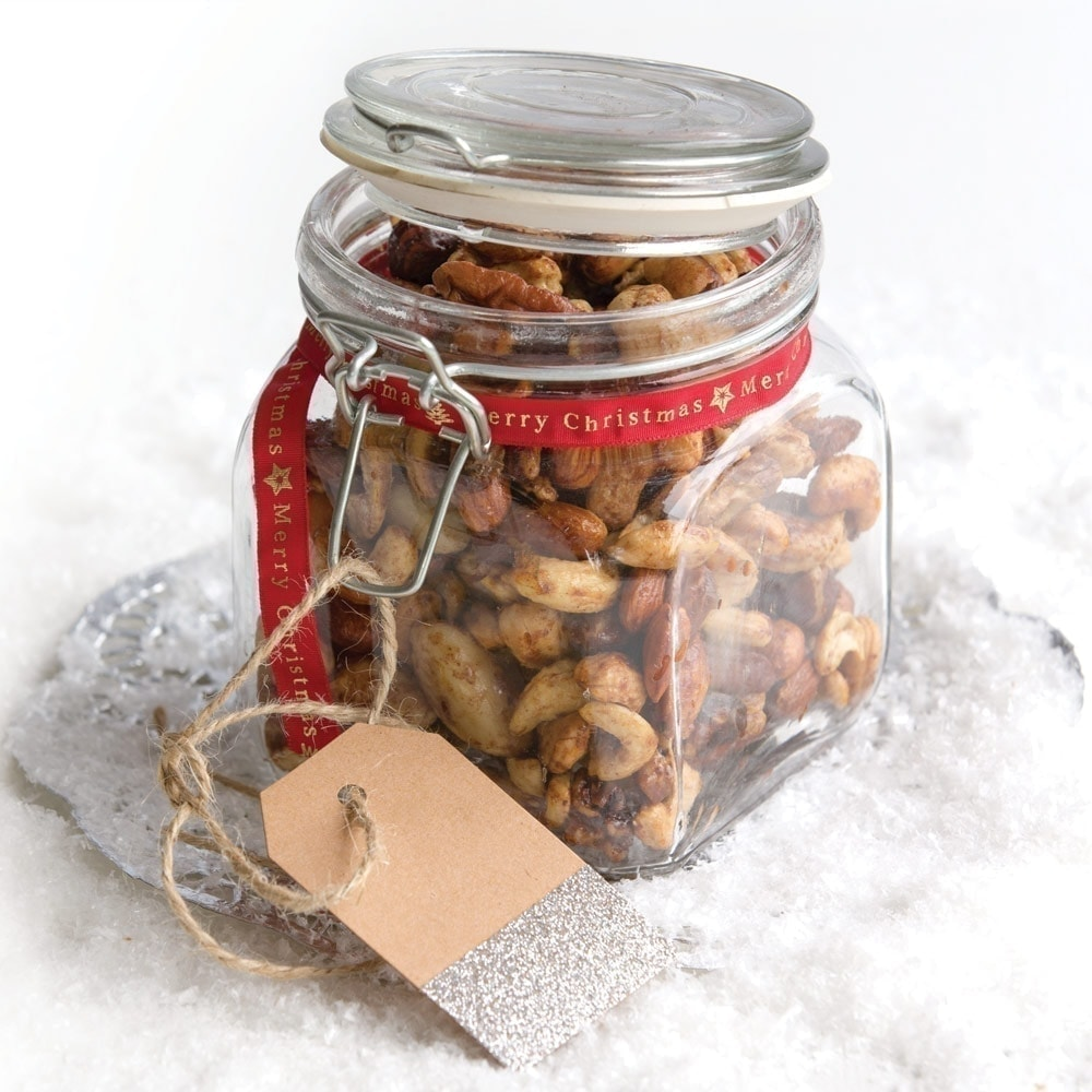 Spiced festive nuts