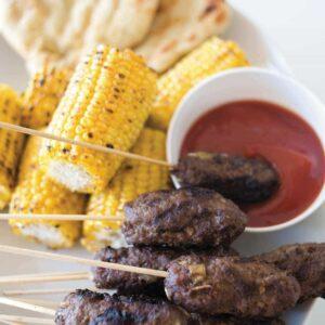 Spicy beef pick-up-sticks