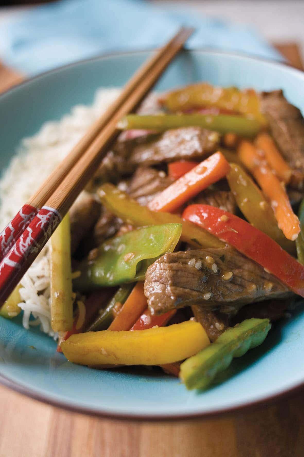 Spicy Beef Stir Fry Healthy Food Guide