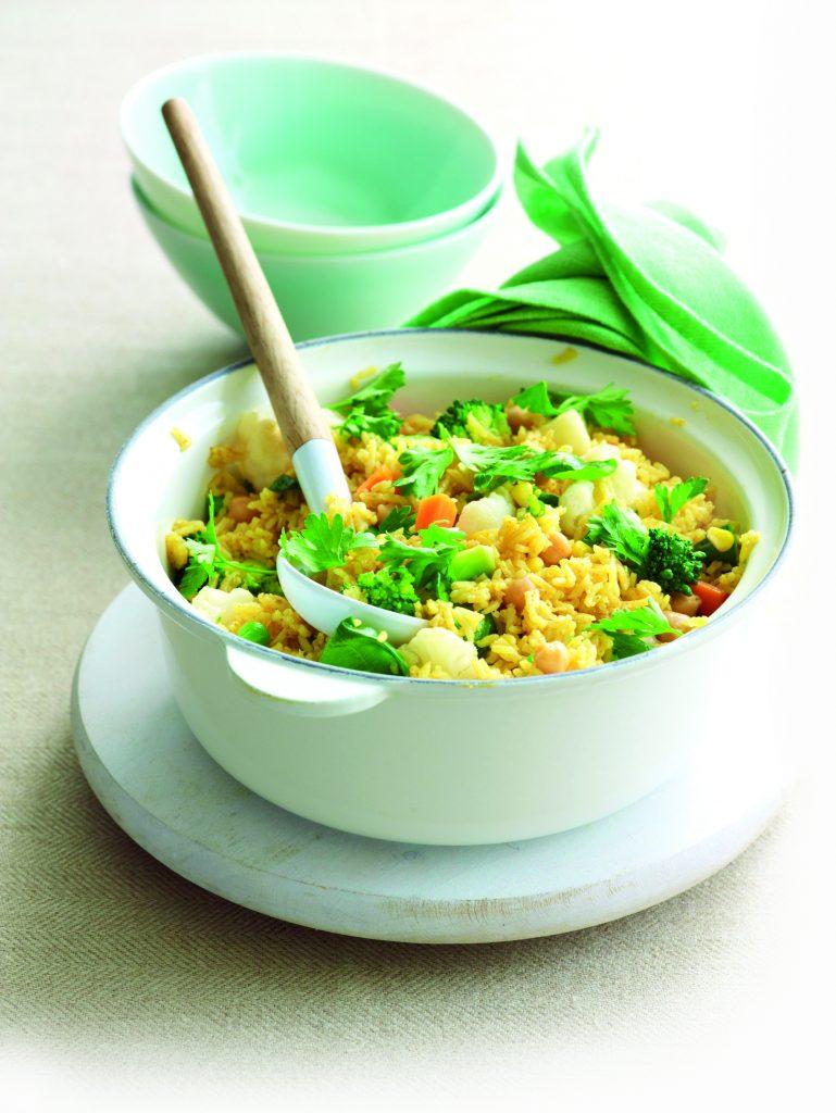 Spicy vege pilaf