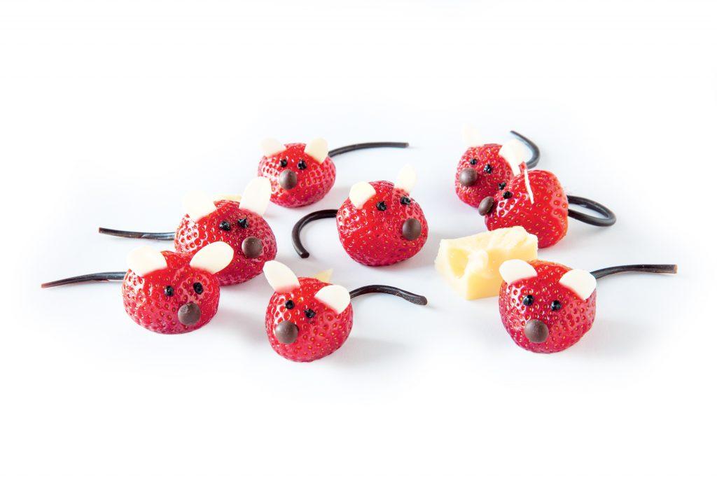Strawberry mice