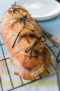 Stuffed lemon and herb chicken breast - Mother's Day meal