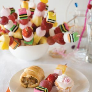 Sweetie treatie fruit skewers