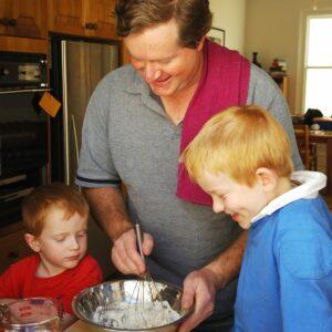 Teaching kids to cook
