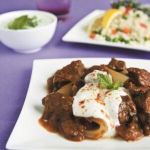Tender lamb curry