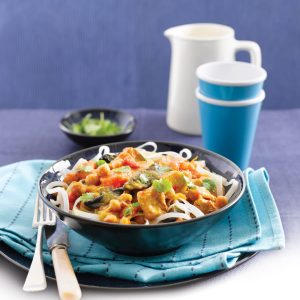 Thai chicken pot