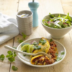 Thai-style pork-filled omelettes