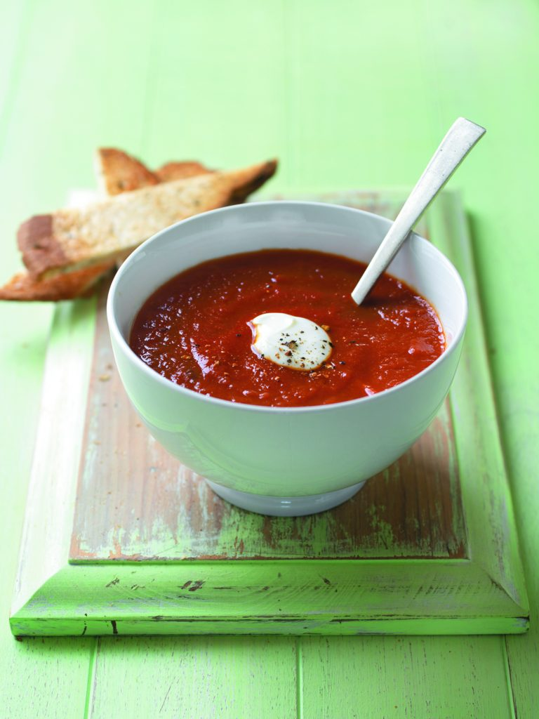 Tomato and cumin soup