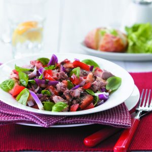 Tuna and bread salad