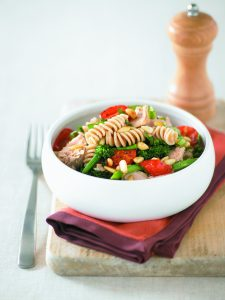 Tuna and roast tomato pasta